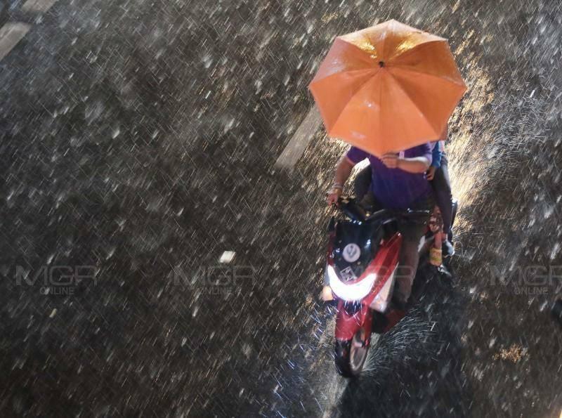 อุตุฯ เตือน เหนือ-อีสาน ฝนฟ้าคะนอง-ลูกเห็บตก ต่อด้วยอุณหภูมิลดฮวบ 4-6 องศา ใต้มีฝนเล็กน้อย