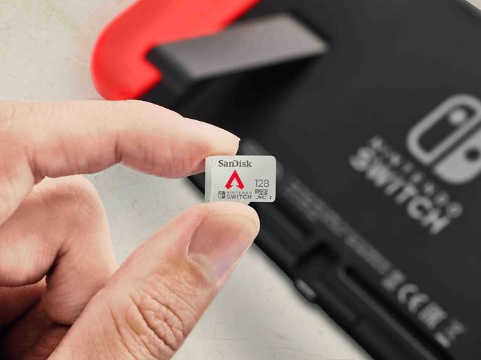เวสเทิร์น ดิจิตอล เปิดตัวเมมโมรี่การ์ดลาย Apex Legends สำหรับ Nintendo Switch