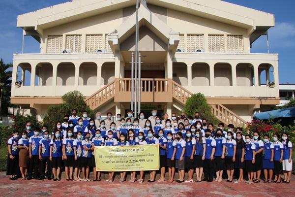มูลนิธิกุศลธรรมภูเก็ตมอบทุนการศึกษาและอุปกรณ์การเรียนการสอน ให้แก่โรงเรียนเมืองถลาง มูลค่า2,256,999 บาท