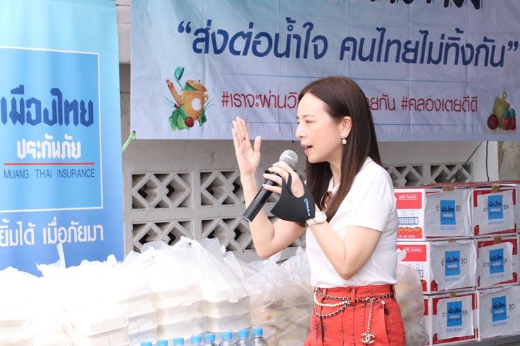 ตรุษจีนอุ่นใจ 'เมืองไทยประกันภัย' ส่งอาสาฉีดพ่นฆ่าเชื้อโควิด-19 ห้าวัดดัง