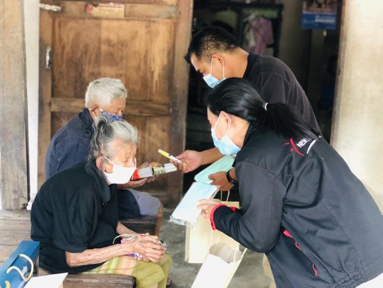 """ซีพีเอฟ ร่วมขับเคลื่อนสังคมไทยเอื้ออาทรและแบ่งปัน สานต่อ""""โครงการกองทุนซีพีเอฟ คืนสุข ผู้สูงวัย"""" ปีที่ 10"""