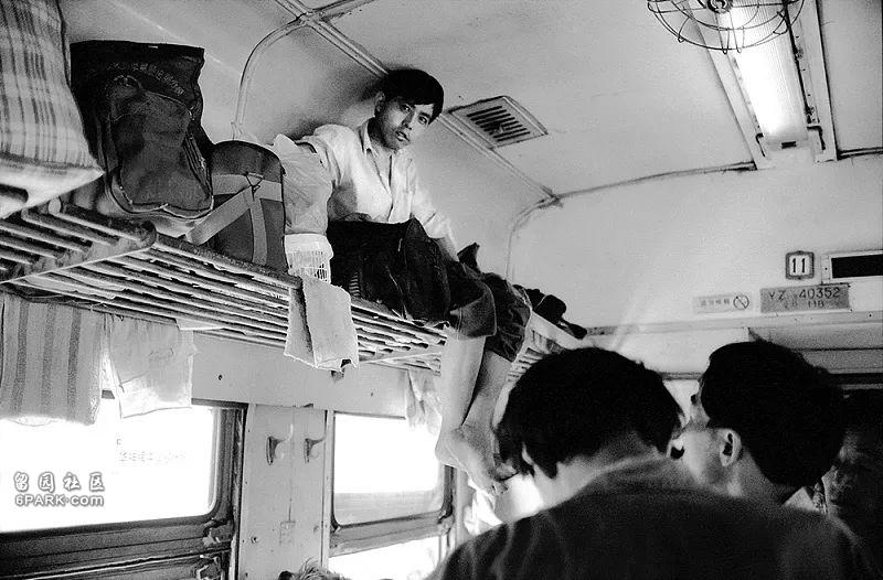 ในขบวนรถไฟสายเซี่ยงไฮ้-กว่างโจว ปี 1993