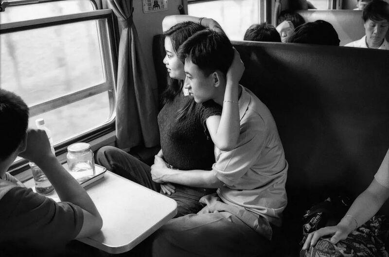 ในขบวนรถไฟสายปักกิ่ง-เสิ่นหยัง ปี 1994