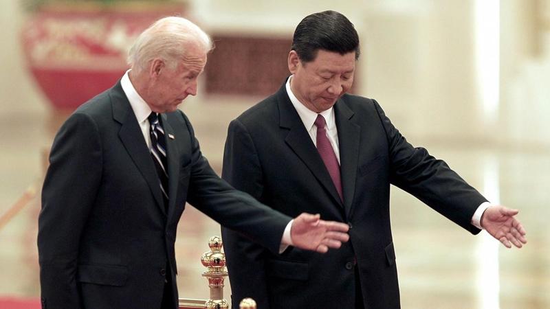 'ไบเดน-สี'หารือครั้งแรกจุดยืนต่างกันชัดเจน  มะกันยันไม่รีบยกเลิกมาตรการภาษีสินค้าจีน