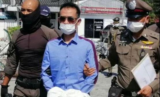 หลงจู๊สมชาย ถูกตำรวจบุกเข้าจับกุม