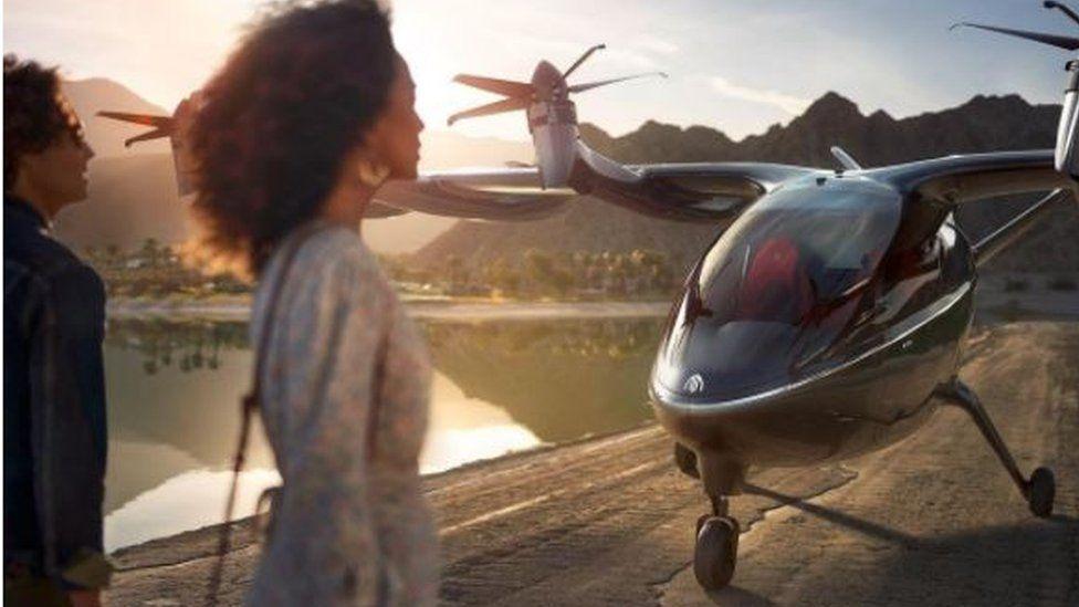 สายการบินสหรัฐฯเตรียมซื้อแท็กซี่ไฟฟ้าบินได้ 200 ลำ