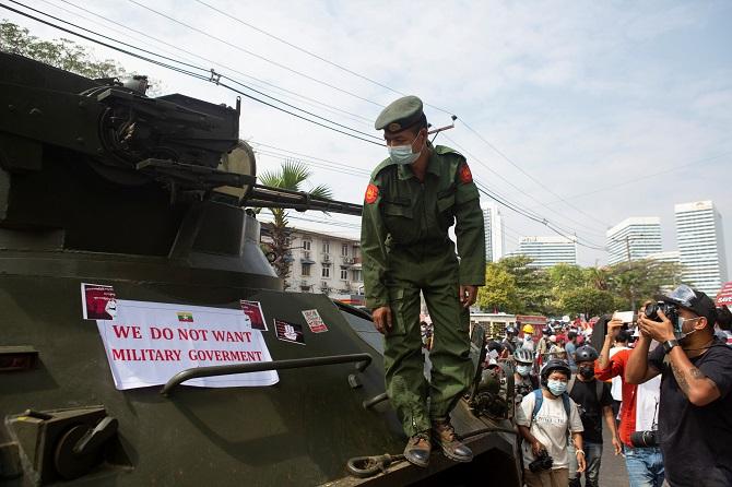 UNเตือนกองทัพพม่าเจอ'ผลสนองหนักหน่วง'หากใช้ความรุนแรงกับผู้ประท้วงต้านรัฐประหาร