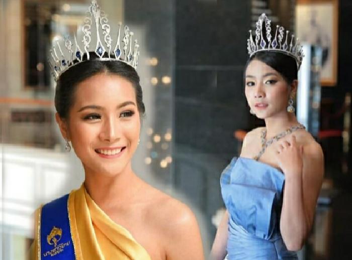 """ไปเป็นนางฟ้าบนสวรรค์ รวมภาพ """"น้ำมนต์"""" รองนางสาวไทยปี 62 ในโมเมนต์งดงาม"""