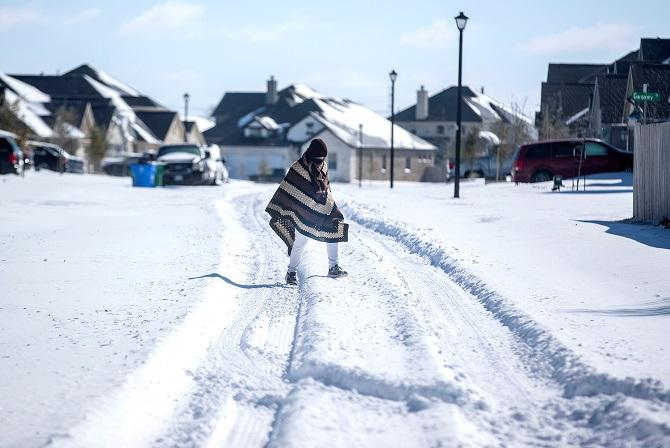 สหรัฐฯเจอสภาพอากาศเลวร้าย เทกซัสหนาวเหน็บกว่าอะแลสกา,เนแบรสกาอุณหภูมิ-35องศา