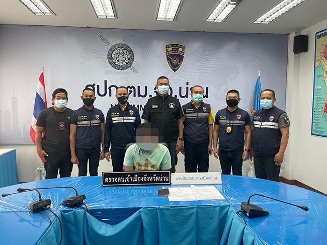 ตม.นานรวบชาวอิหร่าน หนีหมายจับ ตร.สากล ชะล่าใจขอต่อวีซ่าในไทย