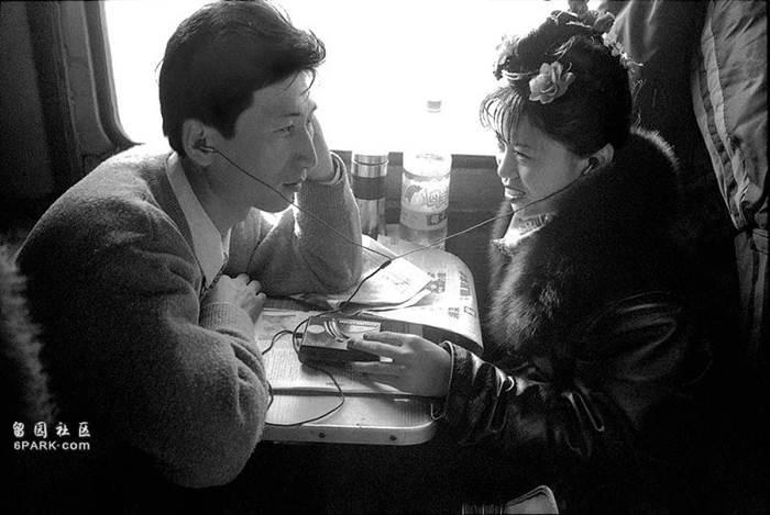 บนขบวนรถไฟเป่ยอัน-สุยฮว่า ปี 1998
