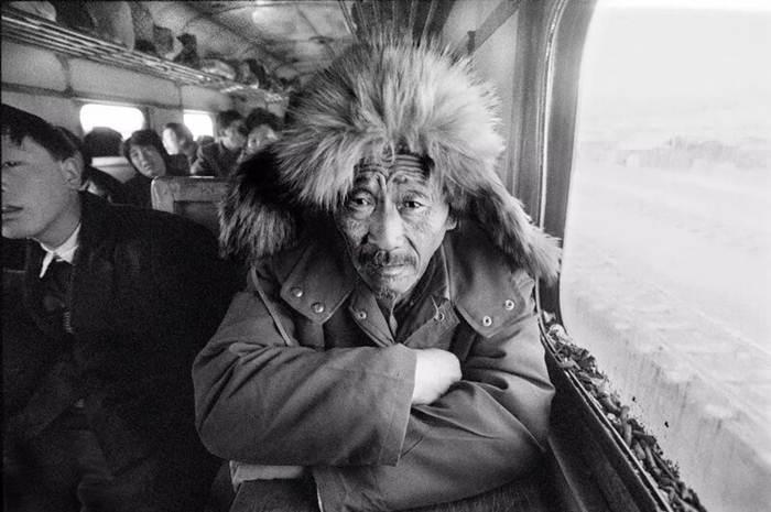 บนขบวนรถไฟซวงเฟิง-ฉังทิง ปี 1989