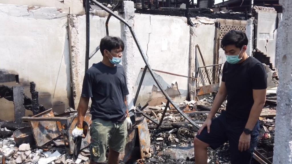 กทม.รุดช่วยชาวบ้าน ชุมชนวัดดาวดึงษ์ หลังไฟไหม้วอด