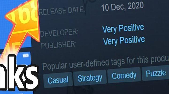 """นึกว่ารีวิว! Steam แบนค่ายเกมตั้งชื่อตัวเอง """"แง่บวกเป็นอย่างมาก"""""""