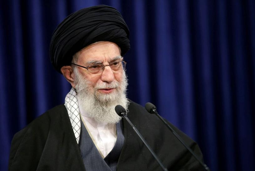 อยาตอลเลาะห์ อาลี คอเมเนอี ผู้นำสูงสุดอิหร่าน