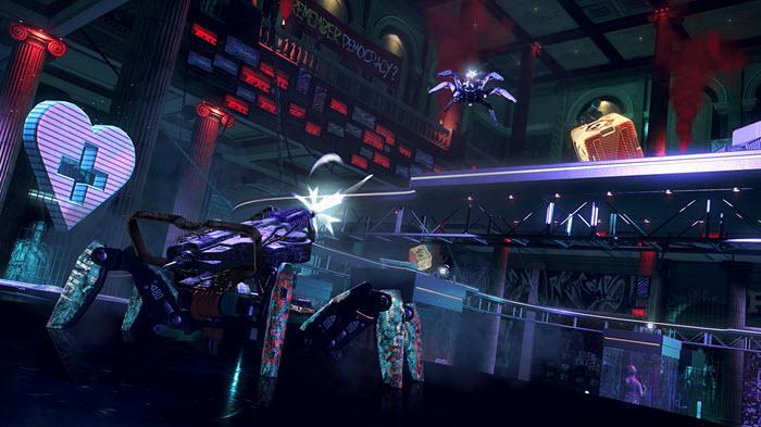 โหมด Spiderbot Arena