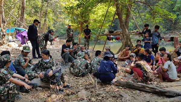 """ชาวกระหร่างไม่พอใจ""""ยุทธการพิทักษ์ป่าต้นน้ำเพชร"""" เสนอขอพื้นที่ 5400 ไร่ ทำไร่หมุนเวียน"""