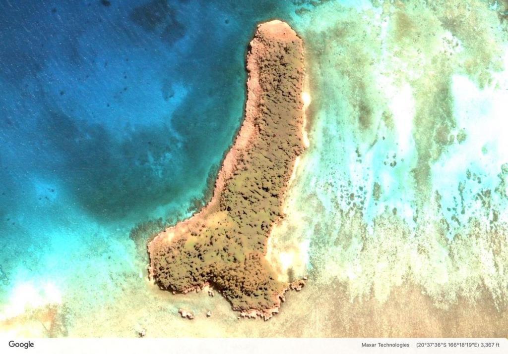 ฮือฮา! พบเกาะรูปร่างเหมือน...ที่มหาสมุทรแปซิฟิก