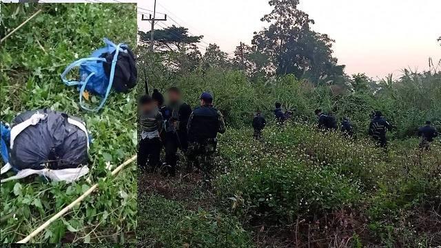 ยิงสนั่นป่าชายแดนแม่จัน!ทหารปะทะเดือดแก๊งค้ายาจับ 3 ยึดยาบ้า 16 เป้