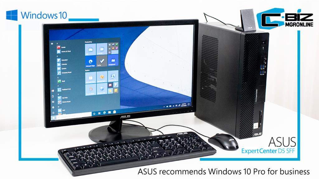 Review : Asus ExpertCenter D500SA เดสก์ท็อปองค์กรเครื่องเล็ก ประสิทธิภาพสูง