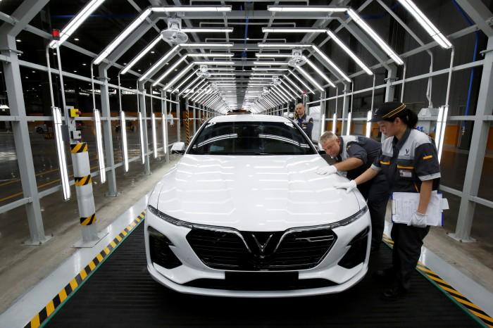'วินฟาสต์' ค่ายรถเวียดนามเล็งตั้งโรงงานผลิตรถยนต์ในสหรัฐฯ ลุยเปิดโชว์รูม 35 แห่งปีนี้