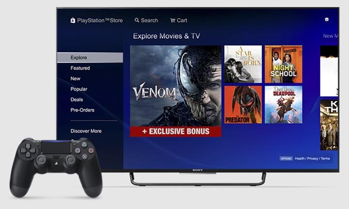 ทำไม่ขึ้น! PlayStation Store เลิกขายภาพยนตร์-รายการโทรทัศน์