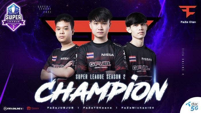 เกมพลิก! TDKeane เก็บ 3 เกมรวด พา FaZe Clan คว้าแชมป์ Super League SS2