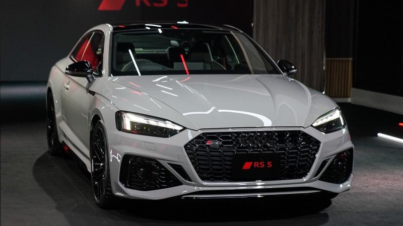 Audi RS 5 Coupé ใหม่ สปอร์ตคูเป้ตัวแรง 450 แรงม้า เคาะราคา 5,990,000 บาท