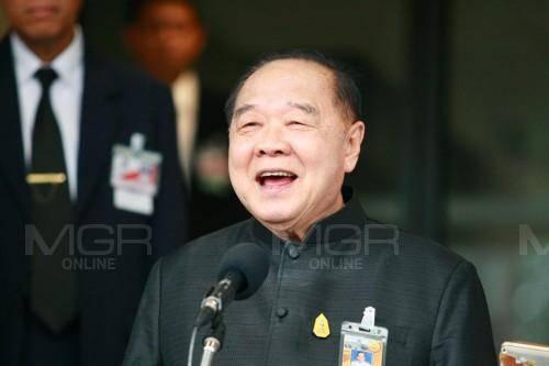 """""""บิ๊กป้อม"""" ขอบคุณชาวนครศรีธรรมราช เลือก พปชร. ยันดูแลคนไทยให้อยู่ดีกินดี"""