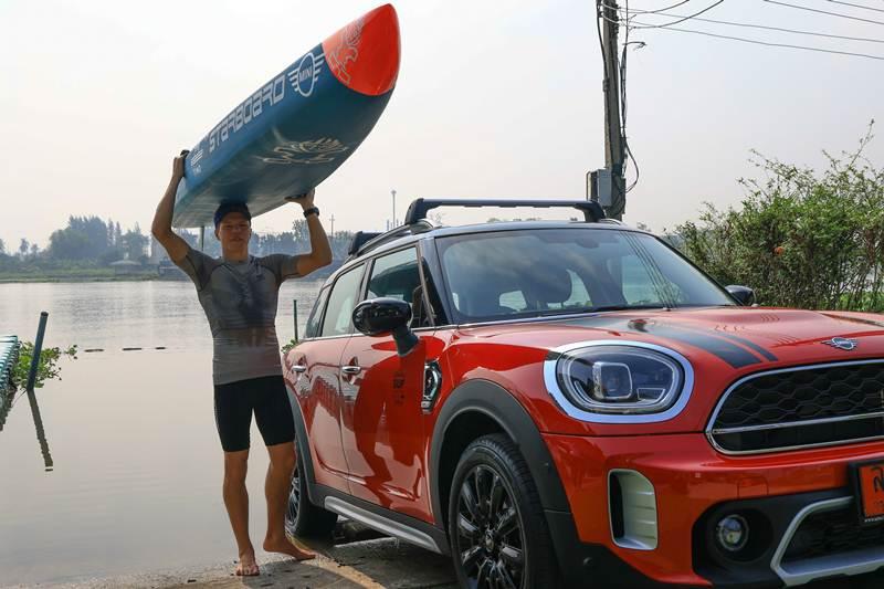 มินิ ประเทศไทย ร่วมสนับสนุนนักกีฬา SUP เตรียมชิงแชมป์โลก