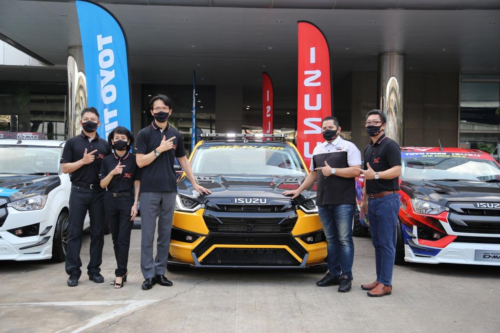 """""""Isuzu One Make Race 2021"""" พร้อมลุยแข่งขันรถยนต์ทางเรียบ สนามแรก 12-14 มีนาคม ศกนี้"""