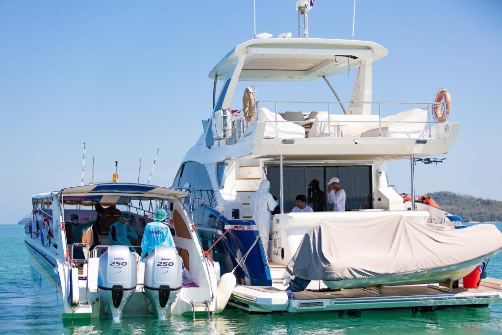 "AIS นำ NB-IoT ช่วยธุรกิจเรือยอชต์ ให้บริการ ""Digital Yacht Quarantine"""