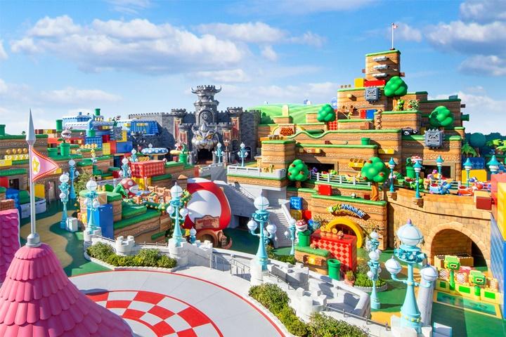 """สวนสนุก """"Super Nintendo World"""" เปิดจริง 18 มีนาคมนี้ในญี่ปุ่น"""