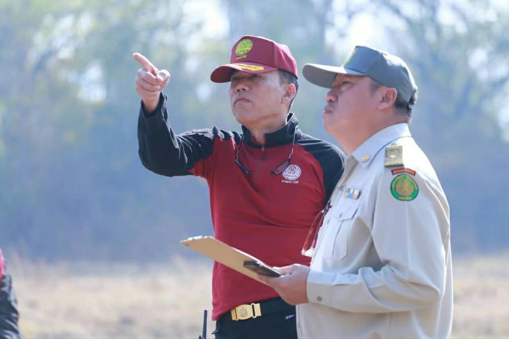 ทส. กำชับเร่งดำเนินการระงับเหตุป้องกันไฟป่าแก้ปัญหาหมอกควันในพื้นที่ภาคเหนือ