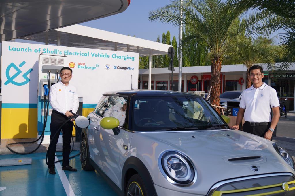 เชลล์ จับมือ BMW เปิดตัว Shell Recharge จุดชาร์จอีวีแห่งแรกในไทย