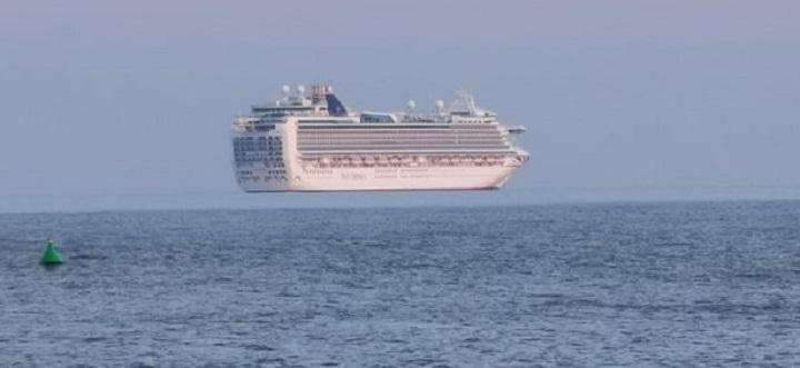เจออีกเพียบ!ปรากฏการณ์'เรือลอยได้'กลางทะเล ล่าสุดเป็นเรือสำราญยักษ์