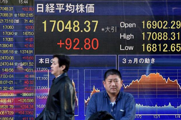 ตลาดหุ้นเอเชียปรับบวกตามดาวโจนส์ หลังบอนด์ยีลด์ชะลอตัว-แผน ศก.สหรัฐคืบหน้า