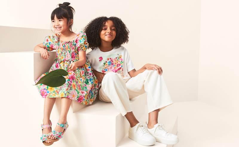 H&M x Angela Mckay ปล่อยคอลเลกชั่นลายพิมพ์เป็นมิตรต่อสิ่งแวดล้อม