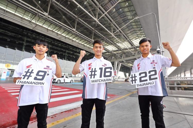 """""""ฮอนด้า"""" ส่ง 3 นักบิดดาวรุ่งไทย บินลัดฟ้าสู้ศึกเอเชีย ทาเลนต์ 2021"""