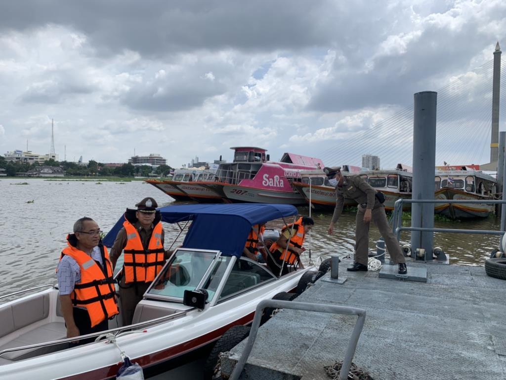 สน.บวรมงคลเร่งจัดสร้างท่าเรือตรวจการณ์พร้อมอบรมอาสาบรรเทาเหตุกระโดดน้ำสะพานพระราม 8
