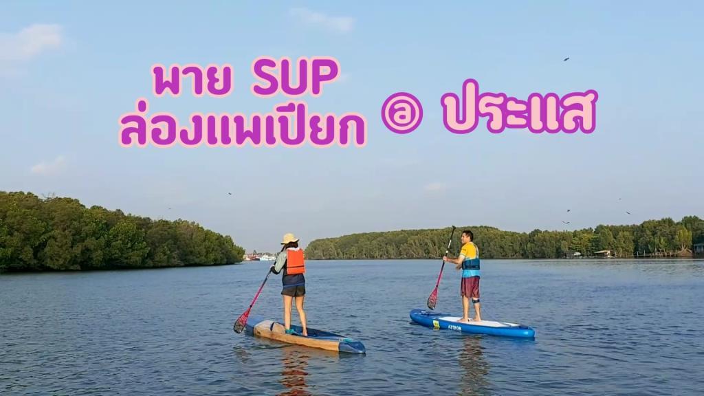 พาย SUP ล่องแพเปียก @ ประแส