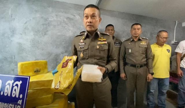 รอง ผบช.ภ.7 เผยผลงาน ตำรวจเพชร จับไอซ์-ยาบ้ามูลค่ากว่า 1 พันล้านบาท