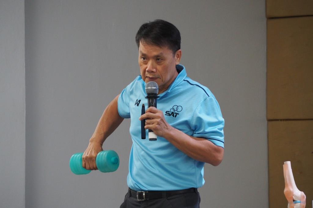 ส.ยกน้ำหนัก จัดอบรมผู้ฝึกสอนระดับชาติ ขั้นพื้นฐาน ประจำปี 2564