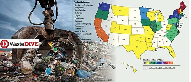 โลกเปลี่ยน! 12 มลรัฐอเมริกาตื่นตัว รับกฎใหม่ EPR   หวั่นกม.เช็คบิล เร่งปรับสู่บรรจุภัณฑ์รักษ์โลก
