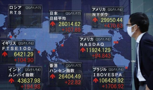 ตลาดหุ้นเอเชียปรับลบ วิตกโควิดระบาดรอบใหม่-สหรัฐขึ้นภาษีนิติบุคคล