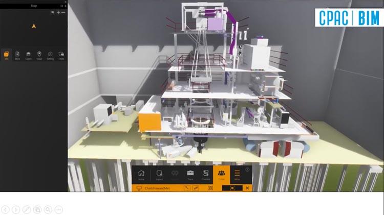 CPAC BIM สร้าง 3D Model เห็นภาพรวมอาคารและฟังก์ชันการใช้งานจริง