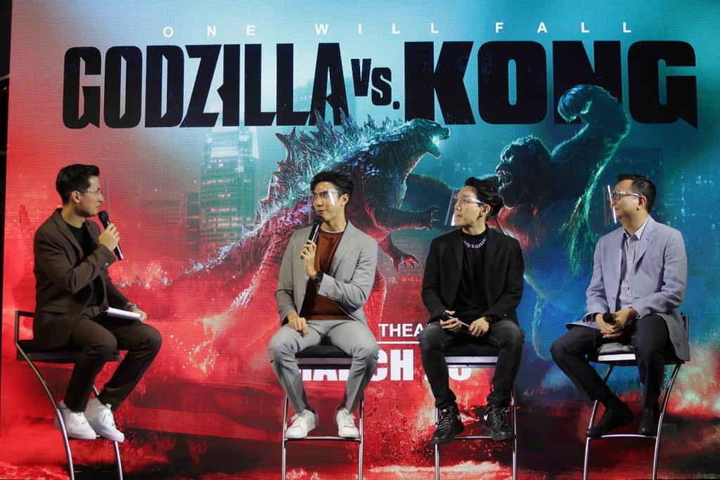 """สิ้นสุดการรอคอย """"Godzilla vs. Kong"""" เข้าฉาย 25 มีนาคมนี้ เหล่าคนดังตบเท้าร่วมสัมผัสความยิ่งใหญ่ในงาน """"Thailand Gala Premiere Godzilla vs. Kong"""" รอบแรกในไทย"""