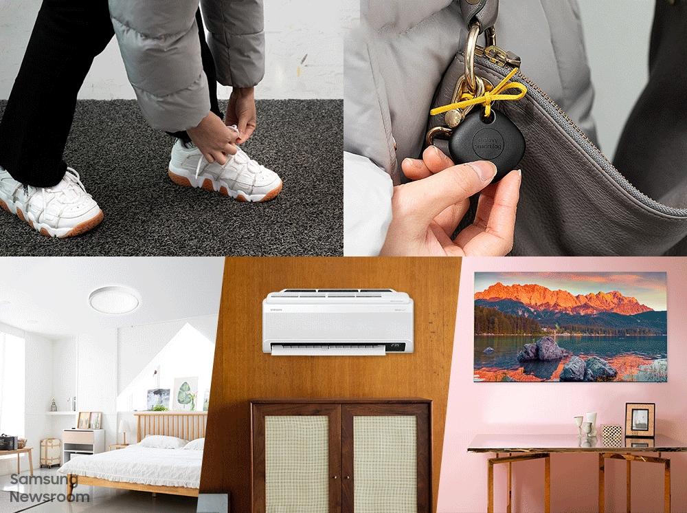 ตัวอย่างการนำ SmartTag ไปใช้ในการติดตามค้นหาสิ่งของ และใช้สั่งงานอุปกรณ์ IoT ภายในบ้าน
