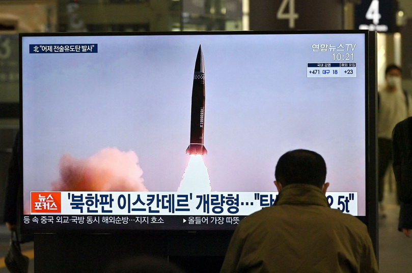 เกาหลีเหนือจวก 'ไบเดน' มีเจตนายั่วยุ หลังประณามโสมแดงยิงขีปนาวุธ