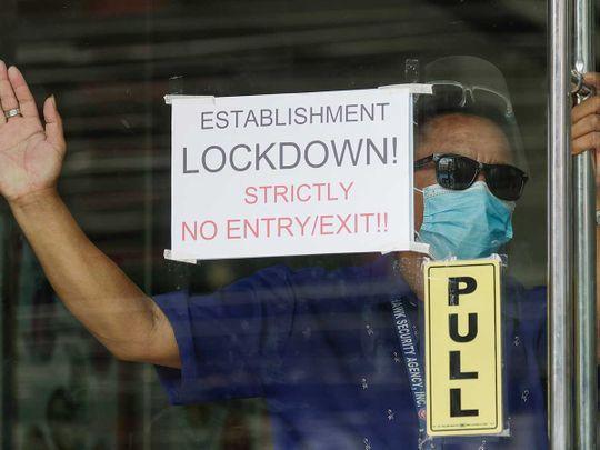 """ฟิลิปปินส์ล็อกดาวน์ """"เมืองหลวง-ปริมณฑล"""" หลังผู้ติดเชื้อพุ่งจนฉุดไม่อยู่"""